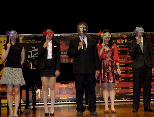 正修科大圖資藝文月「經典歌劇饗宴」盛大開幕。
