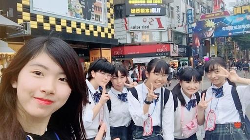 日本學生最喜愛的西門町。