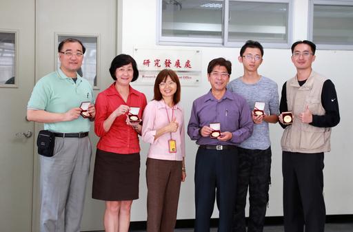 國際創新發明賽 嘉藥教師表現傑出榮獲五金牌