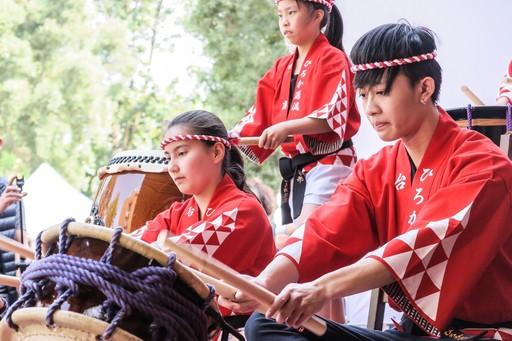 日本的HIROKA源流太鼓隊前來共襄盛舉。