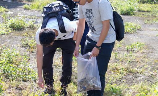 青年志工用行動守護森林