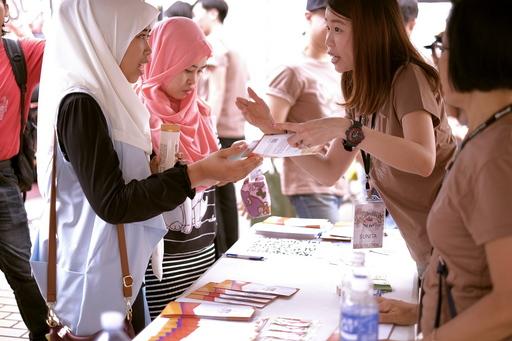 圖說:印尼新住民外勞關懷中心提供免費關懷並開辦各樣的學習服務。
