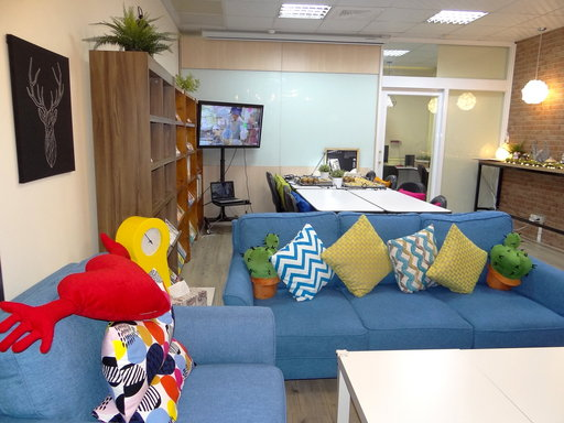 關愛輔導中心新空間提供身心障礙學生舒適、溫馨、自在學習氛圍。