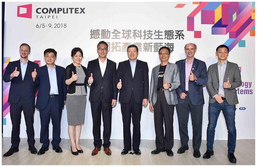 COMPUTEX 2018今(15)日舉辦新創記者會,今年InnoVEX創新與新創展區共有來自21國、388家新創企業參展。