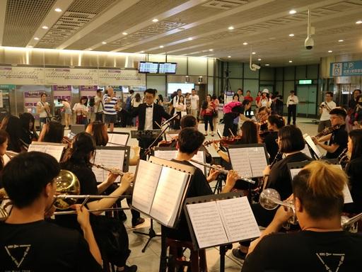 元智大學管樂社與弦樂社帶來精典電影的主題音樂演奏