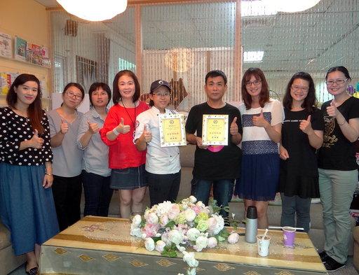 正修關愛輔導中心團隊關心身障生陳嘉智及黃志吉無微不至。