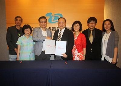龍華科大與采億動畫影業簽署產學合作,成立動畫實務菁英培育中心。