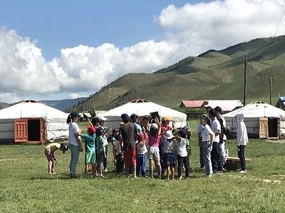 輔大蒙古團與南懷仁兒童中心合辦夏令營活動