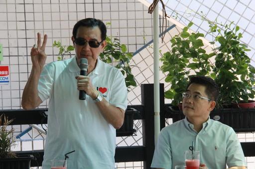 馬前總統視察臺東縣漁港設施及發展 肯定黃縣長八年推動台東縣政優異成績