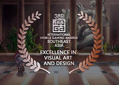 龍華科大學生創業團隊「光穹遊戲」,新作《螢幕判官》勇奪第三屆東南亞行動遊戲大賽「最佳視覺美術與設計獎」。