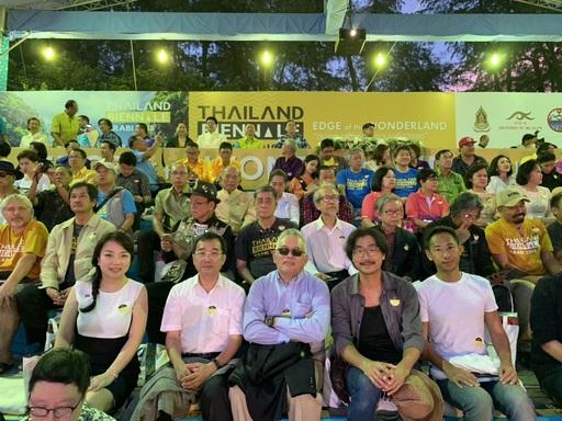 文化部受邀參加泰國國際雙年展由交流司吳紹開司長(中)代表出席