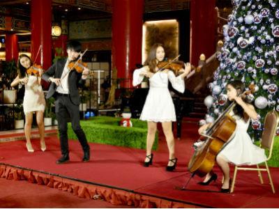 圓山大飯店-彼得品客樂團弦樂四重奏經典聖誕組曲演奏