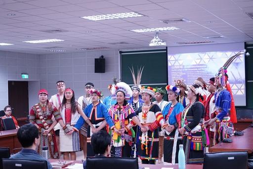原住民民族學院舞團帶來「山海歡唱」歡迎與會嘉賓