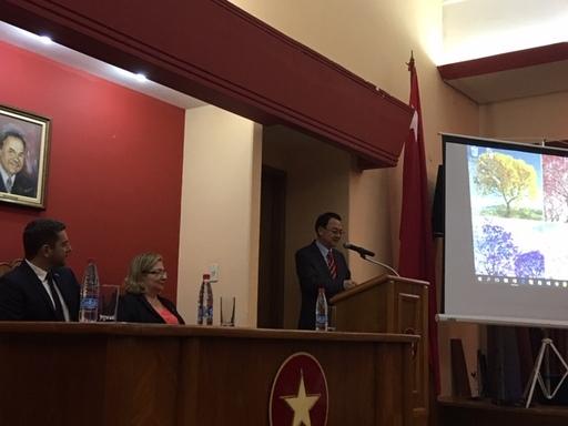 駐巴拉圭大使館與巴拉圭紅黨合作開設華語課程結業典禮 | 中央社訊息平台