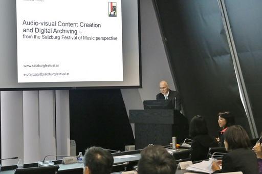 奧地利「薩爾茲堡音樂節」音響工程師普凡查格博士(Dr. Edwin Pfanzagl)學者專題演講