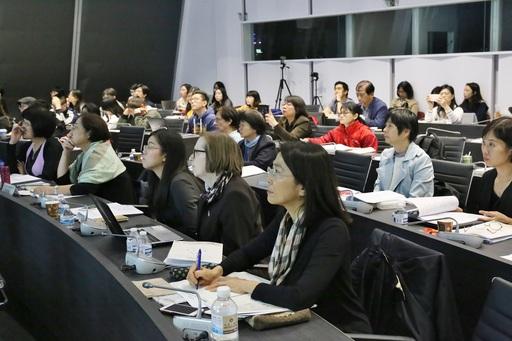 重建臺灣音樂史研討會現場聽眾