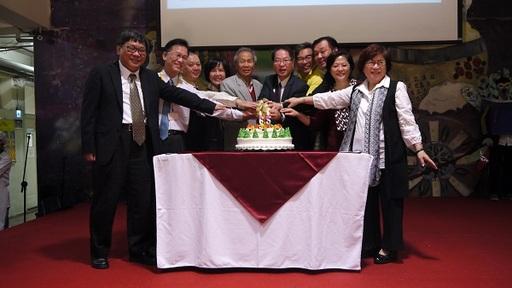 開平餐飲學校於日前(8日)舉辦第65屆校慶,結合第20屆主廚盃盛大舉行。