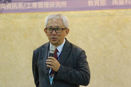 元能股份有限公司董事長魏子夏致詞。