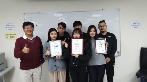 景文科大獲得創業組亞軍和「賣場創意獎」第三名團隊。
