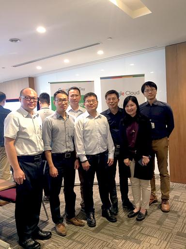 為掌握AI趨勢及脈動,中信金融管理學院由AI學系專業師資群參加Google AI Teacher Camp活動