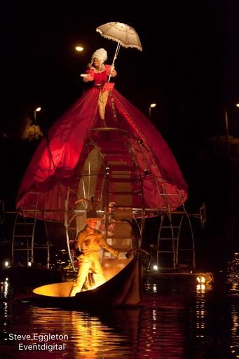 台灣燈會表演天天有亮點  縣長邀約「周遊」屏東