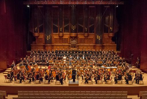 東海大學管絃樂團過去表演照片