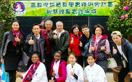 2019全國茶花展,中華大學師生展現智慧綠農成果與組合茶花盆栽之美