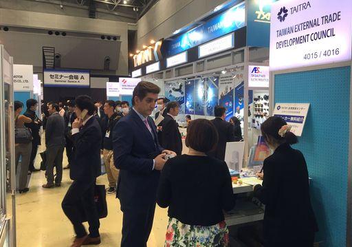 2019東京國際汽車零配件展(IAAE)貿協服務攤位推廣臺灣經貿網優質會員產品型錄