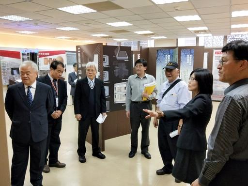 委員訪視現場教學及設施