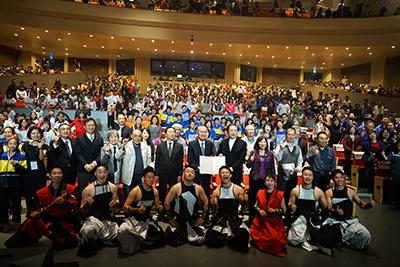 「舞太鼓飛鳥組—撼動生命的擊鼓節奏」於臺藝大公益演出,全場合照。