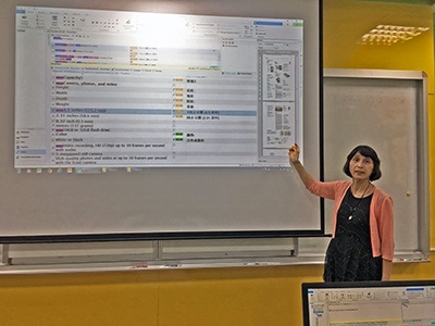 龍華科大應外系翻譯課程導入AI科技應用,提升學子職場即戰力。