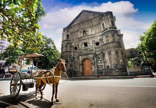 「熱帶花園城市」馬尼拉,菲律賓第一大城。