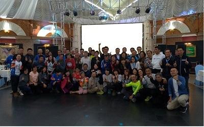 蒙古慢跑旅遊團慶功宴