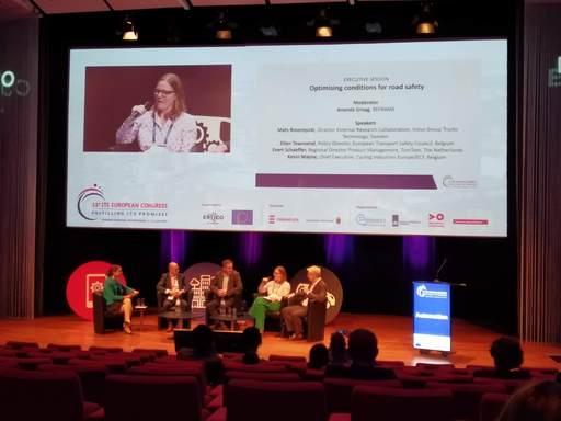 智慧運輸大會議程安排除了來自歐盟各國研究團隊演講,地主國並以自行推動的相關發展之經驗和與會貴賓分享
