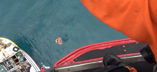 直升機吊掛任務