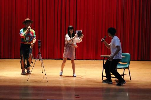 參與學生來自岡山高中、屏東女中、虎尾高中、明道中學等12所共84名學生,分別參加德語朗讀、說故事、合唱競賽及短劇比賽(圖/應德系提供)