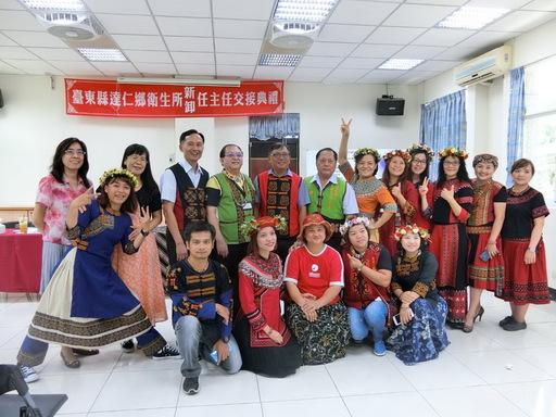 達仁鄉衛生所林希賢主任由臺東最南端衛生所自願至最北端衛生所服務