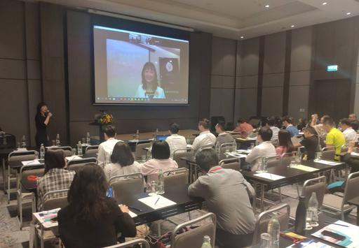 聯新國際陳俐利總監以視訊方式於台泰研討會 分享知識管理應用