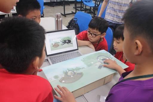 透過課程認識社區環境也啟發孩子們對資訊科技之興趣