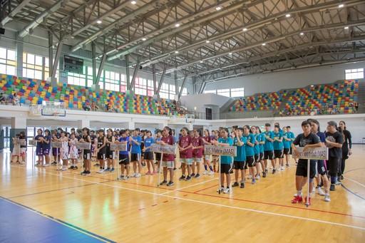 2019嘉耀盃國際青年女子籃球邀請賽,日前於嘉藥紹宗體育館辦理