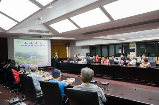 呂秀蓮女士參加由北商大企業管理系與台北經營管理研究院合辦的「2019薪傳講座」。