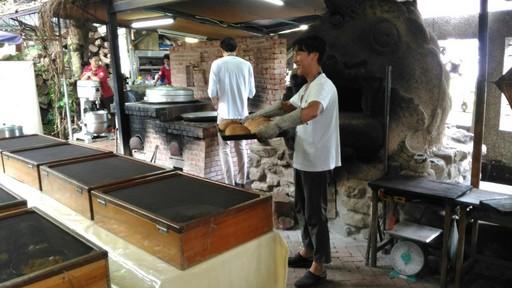 外國貴賓體驗窯烤麵包
