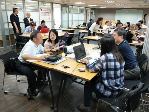 策略開展工作坊(II):分組討論時間