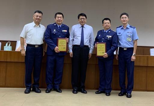 屏東縣政府表揚107年度推行職業安全衛生優良單位暨人員