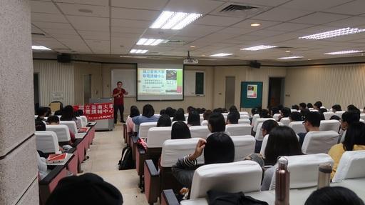 南大聯電課輔中心康智凱進行教專任務說明