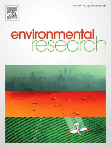 《環境研究》(Environmental Research)國際期刊。