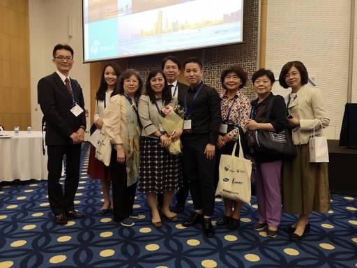 林香汶副院長國際學者互動熱絡。