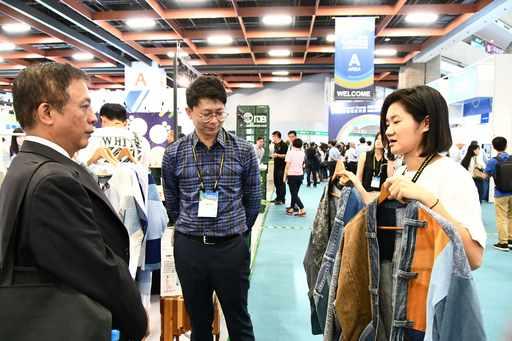 「台灣國際循環經濟展」9月26日在台北世貿一館盛大開幕,展出循環經濟之跨產業應用