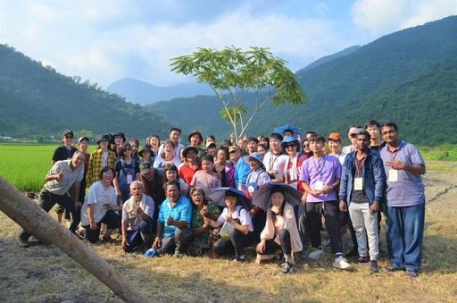 東華大學境外生永續農業生態之旅合照