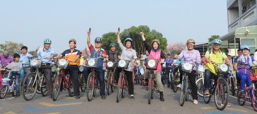 全民減碳自行車道綠廊觀光單車樂悠遊活動